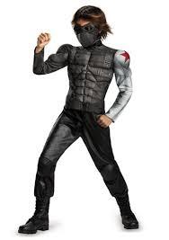 Captain Marvel Halloween Costume Kids Marvel Captain America Winter Soldier Boys Costume 25 99
