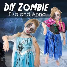 Zombie Halloween Costumes Diy Frozen Zombie Halloween Costume Costumebox Blog