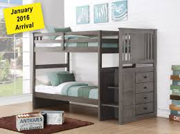 Best Bunk Beds Houston Images On Pinterest  Beds Full - Solid oak bunk beds with stairs