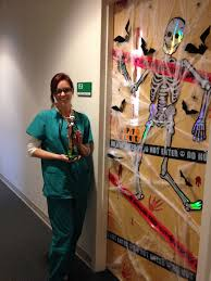Halloween Door Decorating Contest 10 Art Door Decorating Contest Winners Christy Genova With The