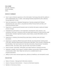 Sample Of Business Analyst Resume by Free Junior Business Analyst Resume Template Sample Ms Word
