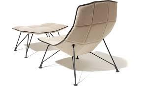 jehs laub wire lounge chair u0026 ottoman hivemodern com