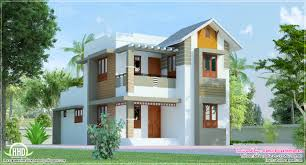 eco friendly houses cute villa exterior design in 1200 square feet