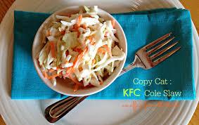 kfc thanksgiving menu copy cat kfc coleslaw an affair from the heart
