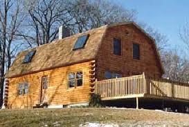 gambrel homes gambrel log home log home kits plans
