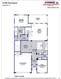 Floor Plans For 2 Story Homes by Dr Horton Homes