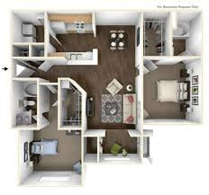 sunroom floor plans 1 3 bed apartments lullwater at calumet apartments