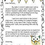 100 teacher to parent letter template best 25 parent