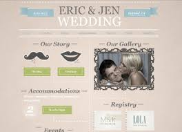 the best wedding websites wedding website templates