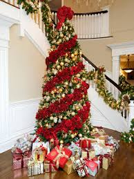 interior design simple themes for decorating christmas trees
