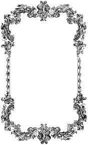decorative borders clip art clipart