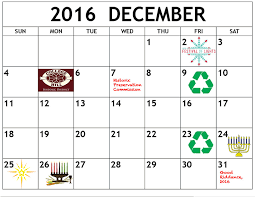 calendar of events december 2016 happy holidays college hill