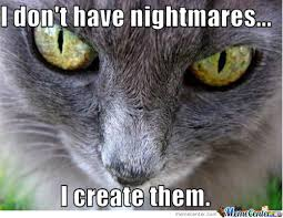 Evil Cat Meme - evil cat by nathanail meme center