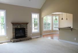 Kitchen Pass Through Design by First Floor Master Home U2013 Garner Home Builders U2013 Stanton Homes
