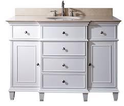 Small White Bathroom Cabinet The Maintenance Of White Bathroom Vanity Atlart