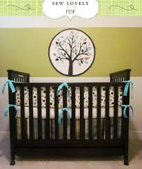 Complete Crib Bedding Set Complete Crib Bedding Set Sewing Pattern Includes 3 Pdf