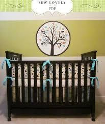 Crib Bedding Pattern Complete Crib Bedding Set Sewing Pattern Includes 3 Pdf