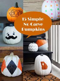 15 simple no carve pumpkin decorating ideas activities kid craft