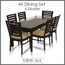 Six Seater Dining Table And Chairs 6 Seater Dining Set Six Seater Dining Table And Chairs