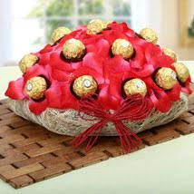 Chocolate Gift Baskets Chocolates Bouquet Online Chocolate Candy Bouquet Ferns N Petals