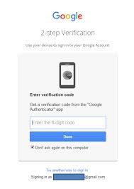 Login Gmail Gmail Login Enter Verification Code Png Motech Solutions Ltd