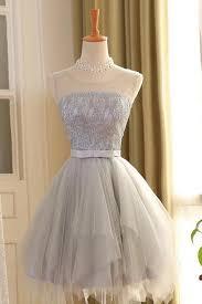 a line homecoming dresses grey a line princess homecoming dresses