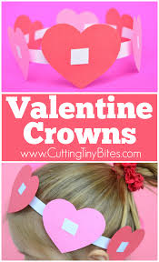 valentine crowns what can we do with paper and glue