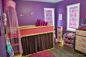 Purple Pink Bedroom - a pink white u0026 gold shabby chic glam girls u0027 bedroom reveal