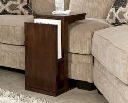 Armchair Side Table Side Table With Magazine Rack Foter