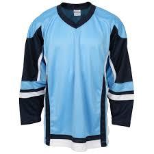 hockeymonkey stadium hockey jersey powder blue navy white