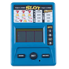 amazon com electronic handheld slot machine game toys u0026 games