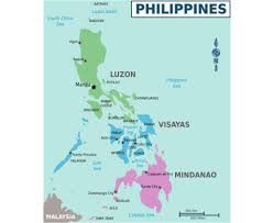 Philippine Map Maps Of Philippines Detailed Map Of Philippines In English