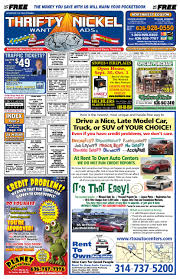 thrifty nickel st louis 09 29 11 by thrifty nickel want ads