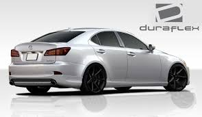 lexus is 250 year 2006 06 13 lexus is is250 is350 is250c is350c duraflex i spec rear lip