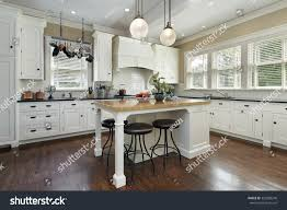 kitchen cabinetry center island stock photo 352803248