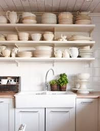 ikea kitchen shelving ideas metal shelves base sink from open