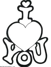 free printable valentine coloring pages for adults sunday
