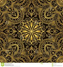 rich gold ornaments stock vector image 57333061