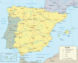 Map Of Spain And Portugal Spain Map Travel Europe