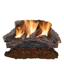 vented gas fireplace logs gas logs the home depot