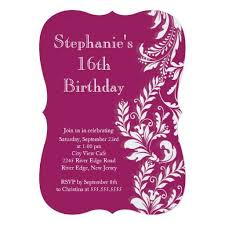 443 best stylish 16th birthday party invitations images on