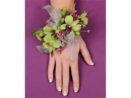 set of purple orchid wrist corsage pictures romance youtube