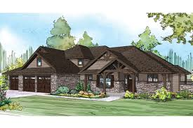 Luxury Craftsman Style Home Plans Craftsman House Plans Cedar Creek 30 916 Associated Designs