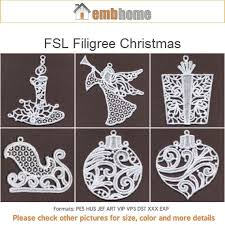 fsl filigree ornament free standing lace machine