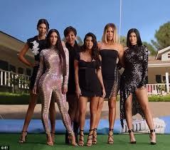 Seeking Opening Theme Song Kardashians Recreate Original Kuwtk Title Sequence Daily Mail