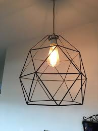 Geometric Pendant Light by Ikea Brunsta Black Geometric Pendant Light Lamp Shade In Burley