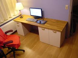 Cheap Computer Desks Ikea Ikea Hack Computer Desk Design Decoration