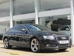 used audi a5 s line for sale used audi a5 2010 black colour diesel 2 7 tdi s line coupe for
