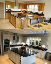 painting kitchen cabinets uk spraying kitchen cabinets professional spray painting