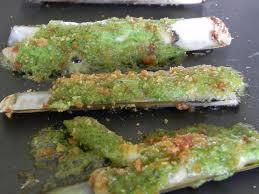 cuisiner des couteaux couteaux de la mer farcis labonnesoupe com